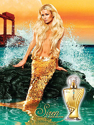 Paris Hilton Topless Mermaid