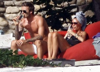 David and Victoria Beckham 10th Anniversary