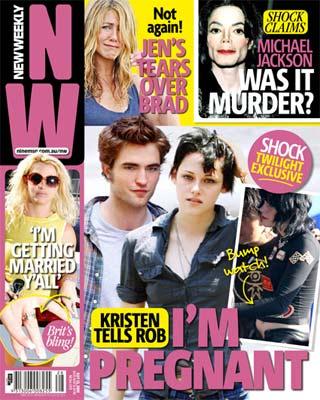 Kristen Stewart is pregnant with Robert Pattinson's Baby