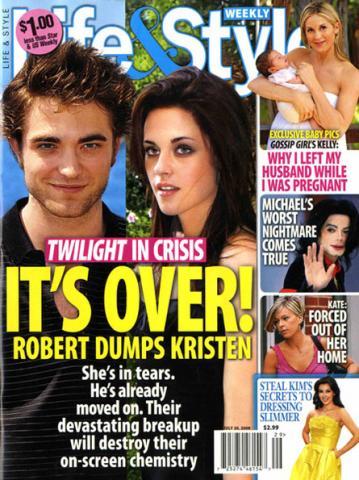 Robert Pattinson and Kristen Stewart seperated