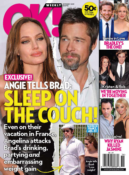 Brangelina in Trouble