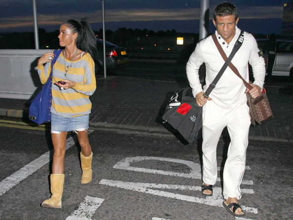 Katie Price Jordan and Alex Reid