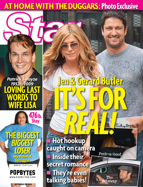 Jennifer Aniston and Gerard Butler Couple Alert