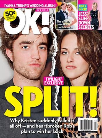 Kristen Stewart Dumps Robert Pattinson???