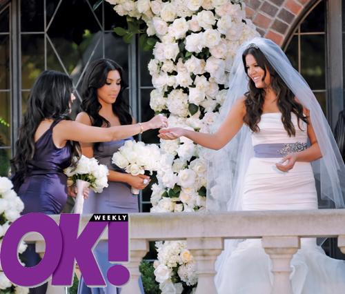 New Khloe Kardashian Lamar Odom Wedding Pics