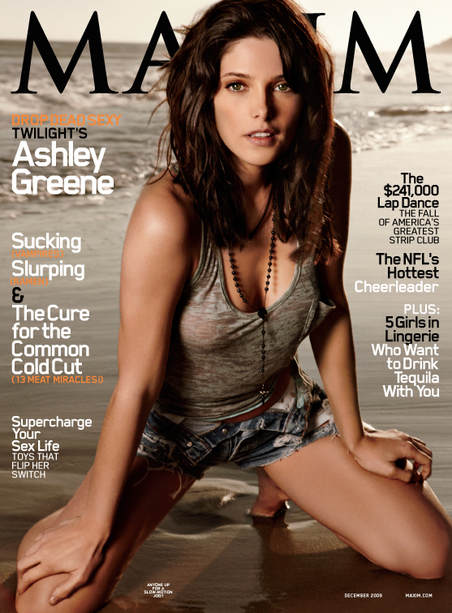 Ashley Greene covers Maxim