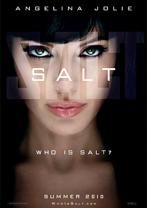 First Look at Angelina Jolie's 'Salt' Poster!